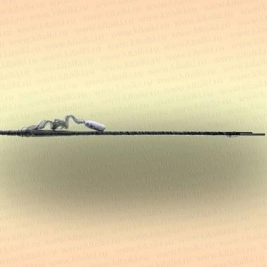 Косынка Kippik складная, 2,4 х 2,4 м, скрученная леска, ячея 35 мм