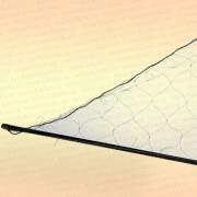 Косынка складная, 1,5 х 1,1 м, ячея 30 мм