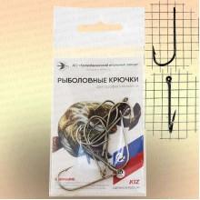 Крючки двугибые овальные, номер 12, толщина 1,2 мм, длина 35 мм, уп 10 шт