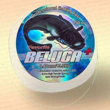 Леска Beluga разноцветная 150 м 0,30  мм тест 12,6 кг