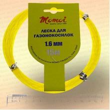 Леска для триммера, круглая; 3,0 мм, 10м красная
