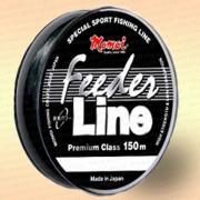 Леска рыболовная Feeder Line, черная, 150 м 0,23 мм тест 5,5 кг