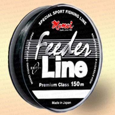 Леска рыболовная Feeder Line, черная, 150 м 0,17 мм тест 3,5 кг