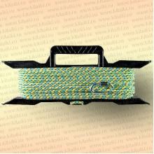 Якорная намотка на мотовиле, фал 10 мм полипропилен, 30 м, карабин оцинк, тест 900 кг