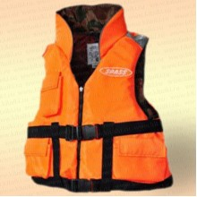 Спасательный жилет Командор двухсторонний с карманами, грузоподъемность 110 кг, размер 50-52