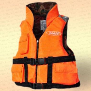 Спасательный жилет Командор двухсторонний с карманами, грузоподъемность 90 кг, размер 46-48