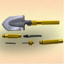 Лопата многофункциональная складная Gold Shovel