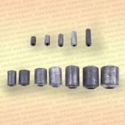 Грузила для сетей, упаковка 10 шт, 40 гр 40 мм, диаметр 12 х 6 мм