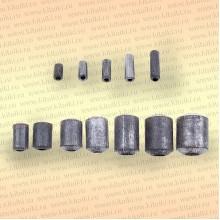 Грузила для сетей, упаковка 10 шт, 100 гр 35 мм, диаметр 20 х 10 мм