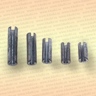 Грузила для сетей с разрезом, упаковка 10 шт, 25 гр 30 мм, диаметр 12 х 6 мм