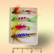 Набор мушек, мушки для рыбалки