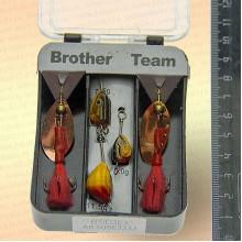 Блесны вращающиеся в наборе Brother Team