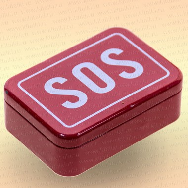 Набор для выживания SOS металл