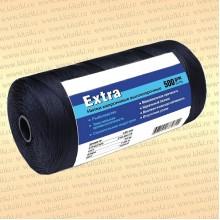 Нитка капроновая черная Extra, бобина 500 грамм, 0,32 мм, 210d/2