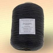 Нить полиэфирная термо-свето-стабилизированная особопрочная, черная, 400 гр