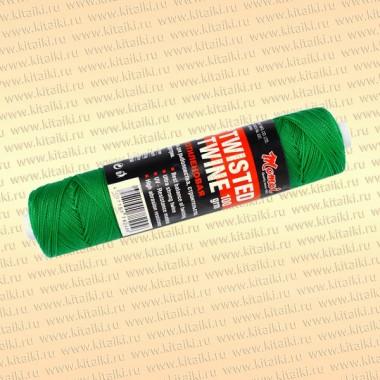 Полиэтиленовая нить, зеленая, 100 гр, 1,0 мм, тест 15 кг