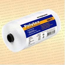 Нитки Polytex 210 den/33, 1,4 мм, 500 гр, белая