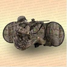 Засидка-укрытие на 1 человека 73x221 см, камуфляж листва
