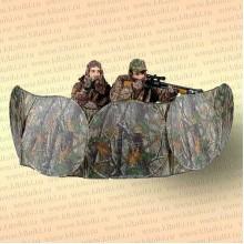 Засидка-укрытие на 2 человека 73x368 см, камуфляж листва