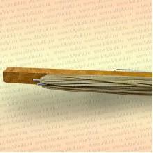 Донная удочка деревянная, неоснащенная грузилом