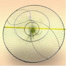 Раколовка D=500 мм, 3 кольца, вход 110 мм