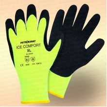 Перчатки ICE COMFORT, желтые, 6101F, размер L