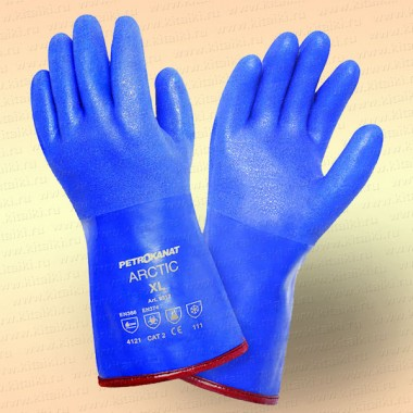 Перчатки ПВХ утепленные Арктика 9312, размер XL
