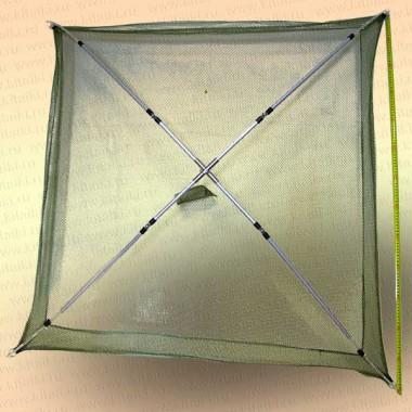 Подъемник для малька телескопический, размер 1,3 х 1,3 м
