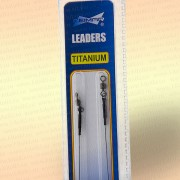 Поводки для рыбалки титановые тест 15 кг, длина 20 см