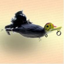 Приманка 3D Suicide Duck 10,5 см, Coot