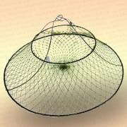 Раколовка - раскладушка 600 мм, 2 кольца