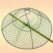 Раколовка раскладушка с манжетой, для лова раков, D=500 мм