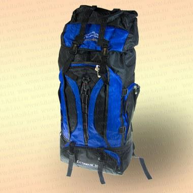 Рюкзак рыбака и туриста, синий 80 л