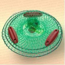 Садок для рыбы с поплавками, диаметр садка 40 см
