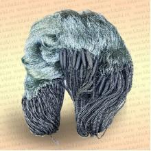 Сеть трехстенная с финскими шнурами: капрон 210D/2, высота 1,5 м, длина 30 м ячея 20 мм