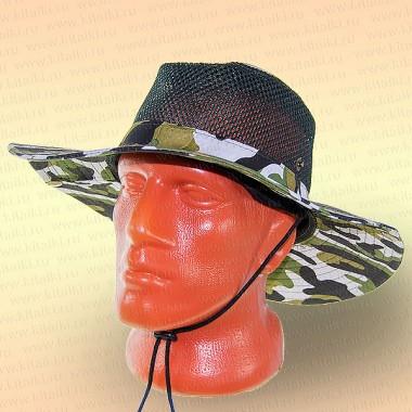 Шляпа для рыбалки, сетка, НАТО светлый