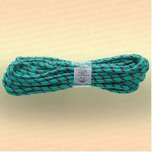 Шнур плетеный универсальный 20 м, диаметр 10 мм, зеленый