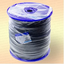 Шнур плетеный Стандарт, на бобине 350 м, диаметр 8 мм, черный