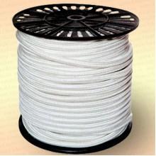 Шнур плетеный Стандарт, на бобине 100 м, диаметр 15,0 мм, белый