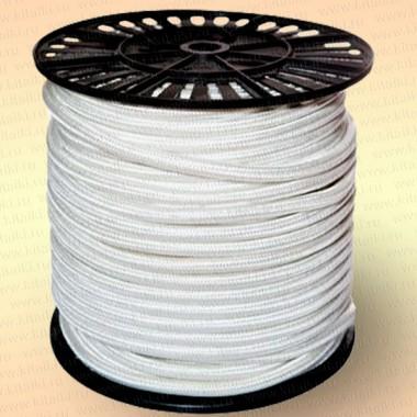 Шнур плетеный Стандарт, на бобине 350 м, диаметр 8,0 мм, белый