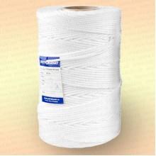 Шнур плетеный Стандарт, на бобине 500 м, диаметр 1,2 мм, цвет - белый