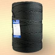 Шнур плетеный Стандарт, на бобине 500 м, диаметр 3,1 мм, черный