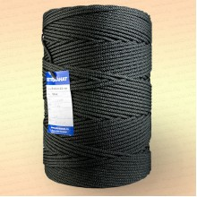 Шнур плетеный Стандарт, на бобине 500 м, диаметр 1,2 мм, черный