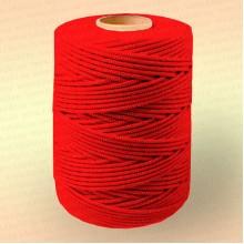Шнур плетеный Стандарт, на бобине 500 м, диаметр 1,2 мм, красный