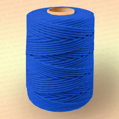 Шнур плетеный Стандарт, на бобине 500 м, диаметр 2,0 мм, синий