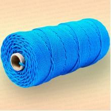 Шнур плетеный Стандарт, на бобине 150 м, диаметр 2,0 мм, синий