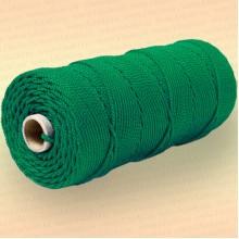 Шнур плетеный Стандарт, на бобине 150 м, диаметр 2,0 мм, зеленый