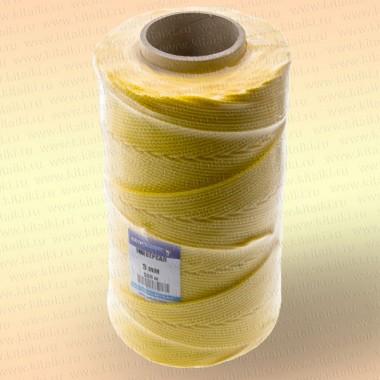 Шнур плетеный Универсал, 2,5 мм, 1000 м, желтый