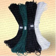 Плетеный шнур рыболовный, капроновый шнур для рыбалки, диаметр 4,0 мм, цвет белый