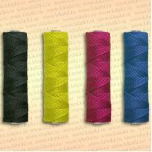 Шнур плетеный Универсал, 2,0 мм, 125 м, желтый